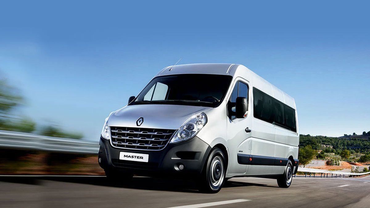 Renault MASTER - Vista exterior lateral
