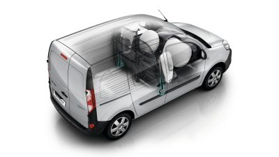 Renault KANGOO Z.E. - Vehicle with airbags deployed